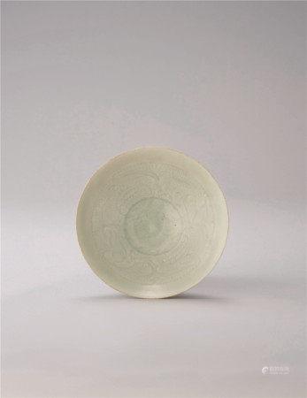 宋代 青白瓷婴戏纹碗