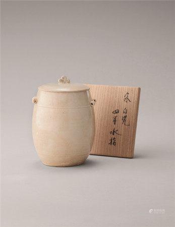 宋代 青白瓷有盖壶