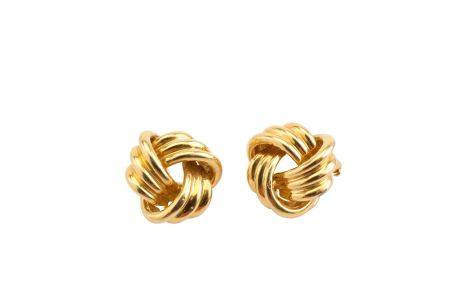 A pair of earclips