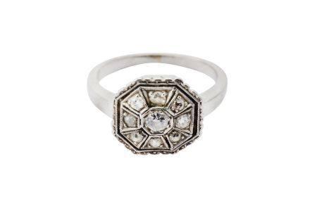A diamond dress ring, circa 1920