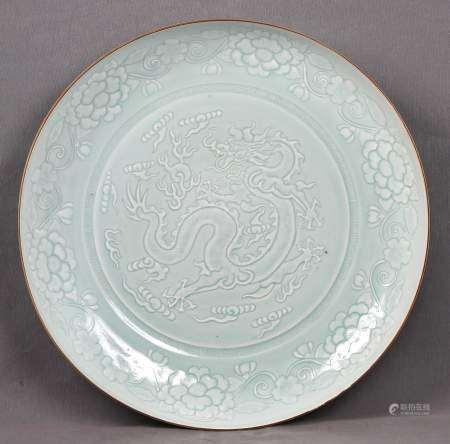 Gran plato chino, S.XX.