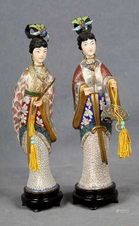 Pareja de geishas, circa 1900.