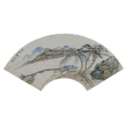 HSU SHIN-CHANG (1855-1939) LANDSCAPE