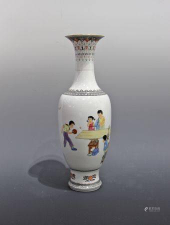 章文超瓷瓶画