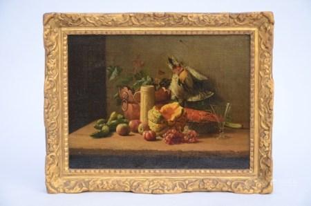 Janssens V. (1862): painting (o/c) 'still life' (35x26cm)
