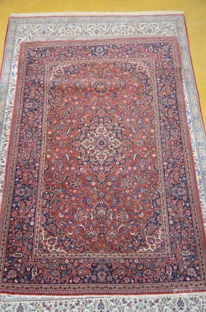 Lot: two small oriental carpets