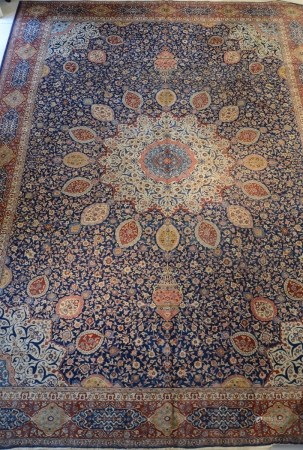 Large Persian carpet 'Gazvin' (336x456cm)