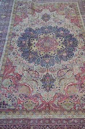 Castle carpet 'Kirman' (*) (377x570cm)