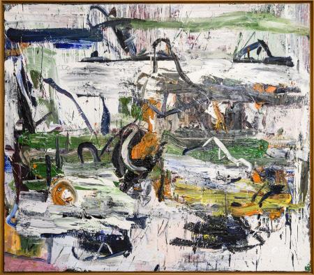 "Philippe Vandenberg (Oil on canvas) ""untitled"" 1987 (200x175cm)"