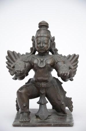 Bronze statue 'Garuda', India (14x9x10cm)