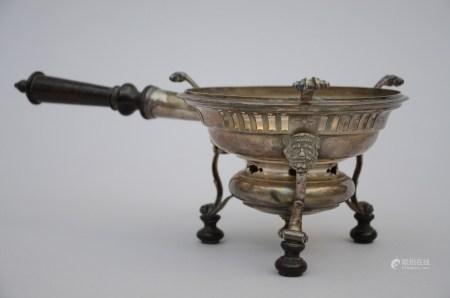 Silver brazier, Ghent 18th century (15x12cm)