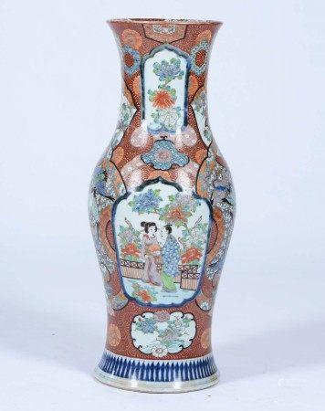 A large porcelain vase, China, 20th century