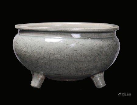 An incense bowl, China, Ming Dynasty, 1500s