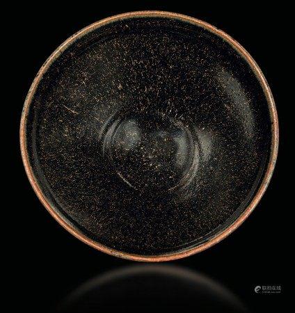 A brown grès bowl, China, Song Dynasty (960-1279)