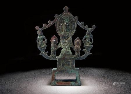 清   銅雕佛像擺件