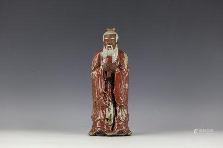 SHIWAN STATUE OF Confucius with Pan Yushu Mark