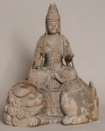 木雕佛像擺件