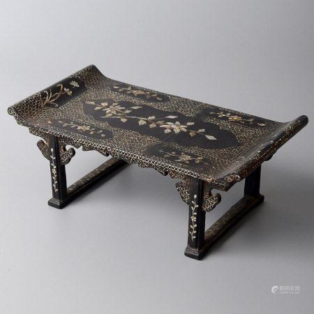 大漆螺鈿長方桌
