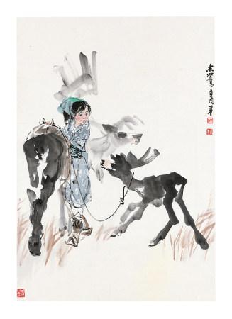 于志學少女與鹿