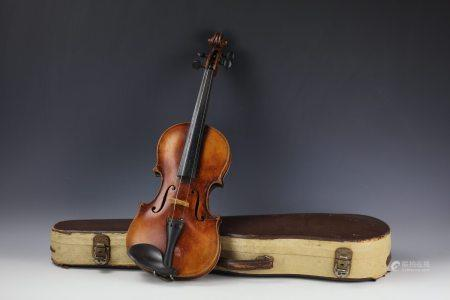 A Violin by William and Son with Original Case