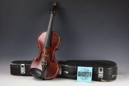 A Violin by Randall Marshall Bittle Washington DC 1958