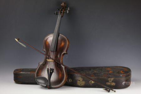 A Violin by Stainer with Original Case