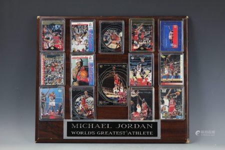 Micheal Jordan Card Collection