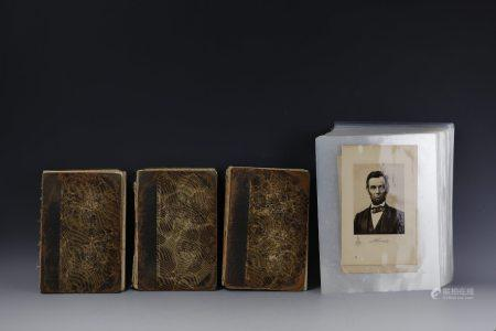 Three Books of Abraham Lincoln Picture pages from the