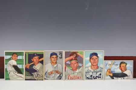 6 Bowman 1952 Priddy, Meyer, Littlefield, Kennedy,