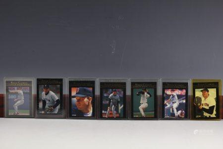 7 Fleer1992 Roger Clemens Career Highlights