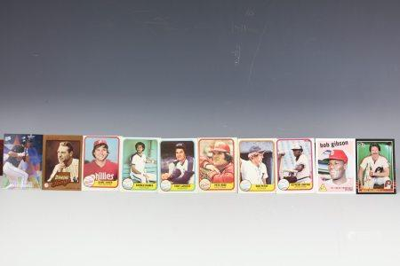 10 Card Gibson Gehrig Schmidt Griffin Petry Saver Rose