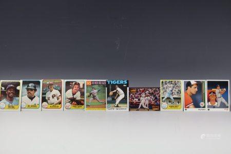 10 Cards Jackson Wilson Brett Gonzalez Ripken Murphy