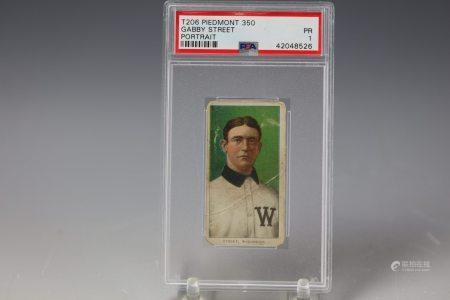 1909 Gabby Street Portrait Piedmont 350 PSA Washington
