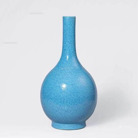 清乾隆 炉钧釉胆瓶