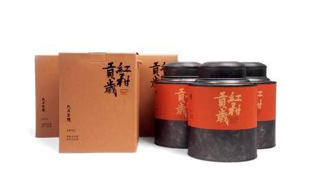 红柑贡岁·陈皮老白茶