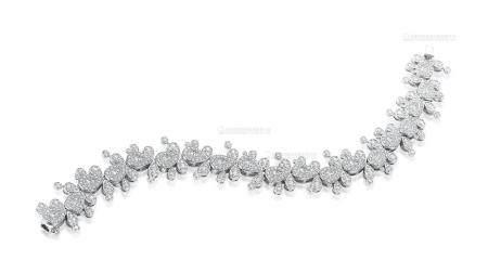 总重3.02克拉 天然钻石手链