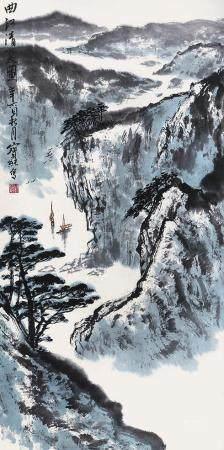 刘宝纯 山水镜片