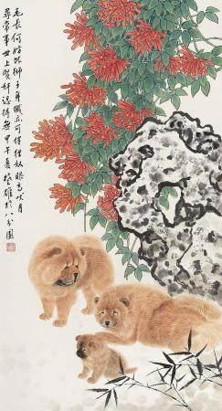 方楚雄(b.1950) 2014年作 富贵旺春 镜心 设色纸本