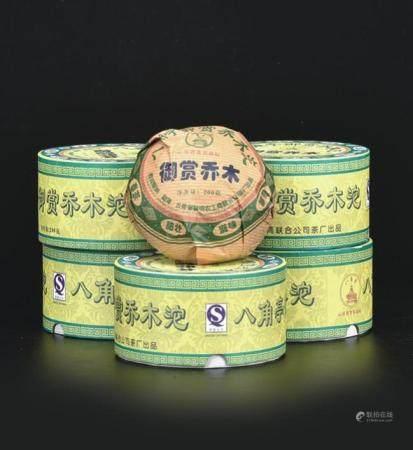 2007年  八角亭御赏乔木普洱生沱茶