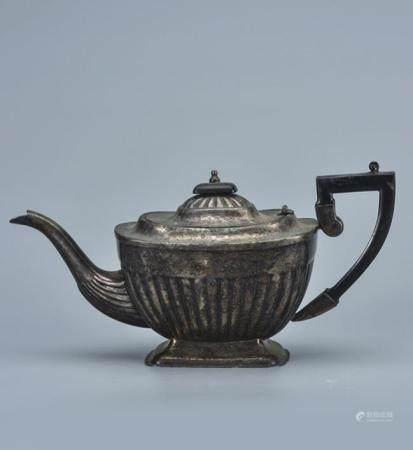 银茶壶  海外回流