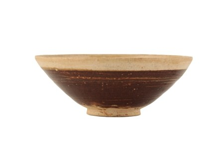 CIZHOU-TYPE BROWN GLAZED SMALL BOWL, NORTHERN SONG DYNASTY