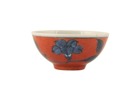 UNDERGLAZE BLUE AND IRON-RED MINIATURE BOWL, CHENGHUA MARK BUT YONGZHENG PERIOD
