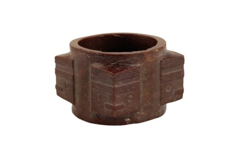 CHINESE JADE CONG, QING DYNASTY OR LATER