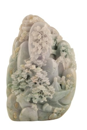 JADEITE MOUNTAIN , QING DYNASTY OR LATER