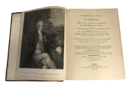 STAUNTON, GEORGE (1737-1801) AN AUTHENTIC ACCOUNT OF AN EMBASSY…...........