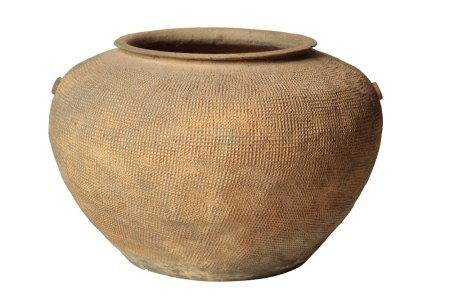 SMALL POTTERY JAR WARRING STATES PERIOD