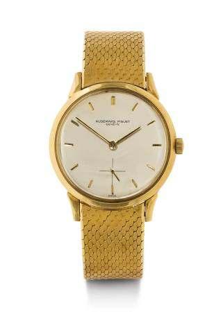 Audemars Piguet, rare Gentleman's Wristwatch, 1950s.