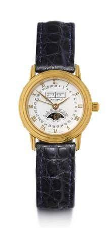 Blancpain Lady's Wristwatch with Calendar, 1988.