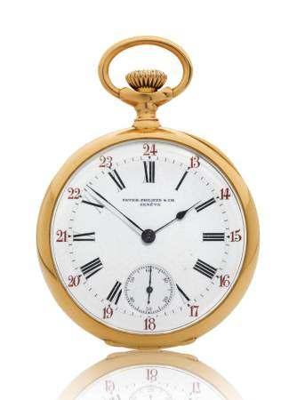 Patek Philippe, elegant Pocket Watch, 1897.