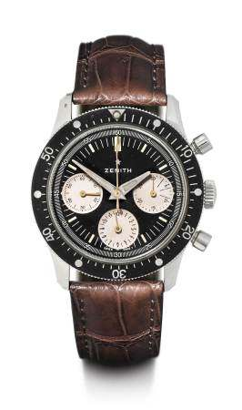 Zenith, rare Pilot's Chronograph, 1960s.